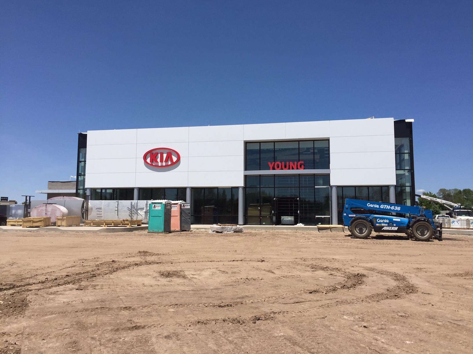 Young Kia Update On New Dealership In Layton Utah
